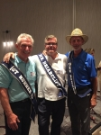 Mr Briarcliff, Mike Roberts, first runner up Randy Campbell, 2nd runner up Ricky Corless