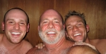David and Sons in the Sauna?